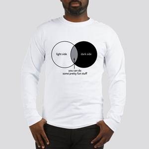 Dark Side Venn Diagram Long Sleeve T-Shirt