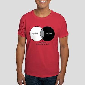 Dark Side Venn Diagram Dark T-Shirt