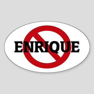 Anti-Enrique Oval Sticker