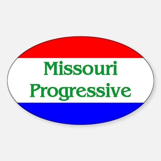 Missouri Progressive Oval Decal
