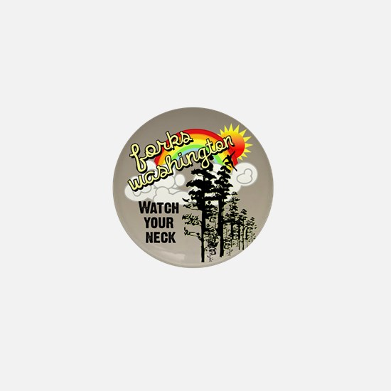 Forks Washington Twilight Mini Button