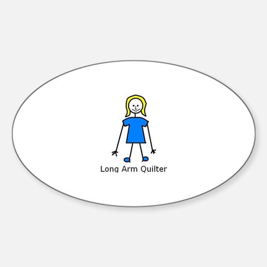 stick quilter Stickers