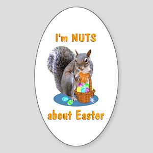 Easter Sticker (Oval)