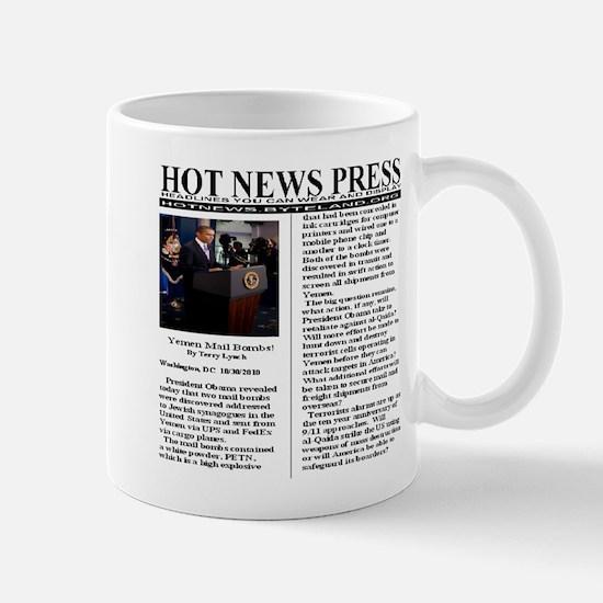 Obama Alert Yemen Mail Bombs Mug