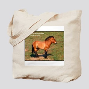 Mongolian Wild Horse Photo Tote Bag