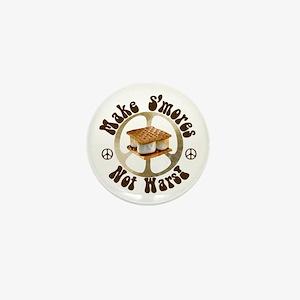 Make Smores Not Wars Mini Button