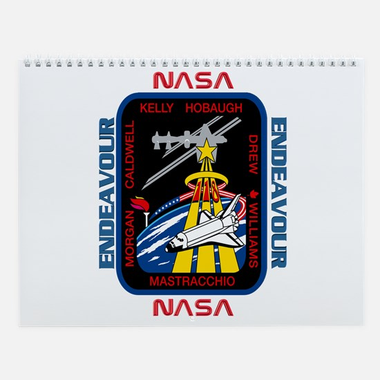 STS 118 New Crew Wall Calendar
