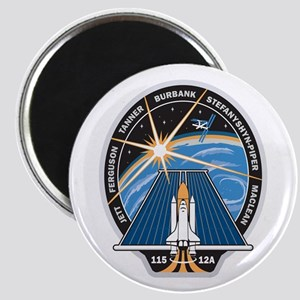 STS 115 Patch Magnet