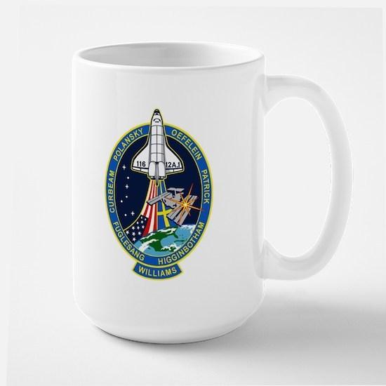 STS 116 Launch Crew Large Mug