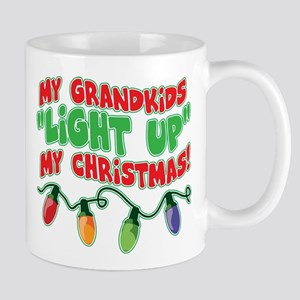 GRANDKIDS LIGHT UP CHRISTMAS Mug