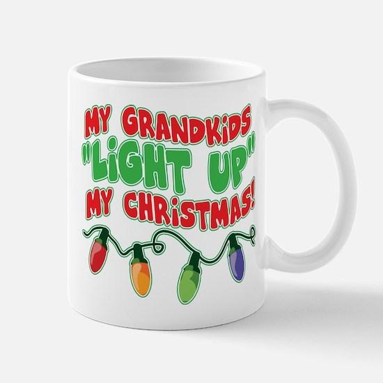 GRANDKIDS LIGHT UP CHRISTMAS Mug