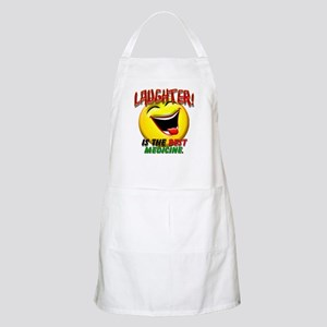 Laughter is the Best Medicine Apron