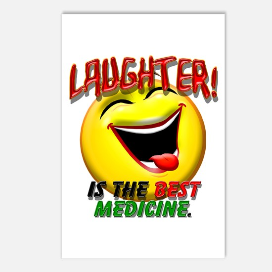 Laughter is the Best Medicine Postcards (Package o