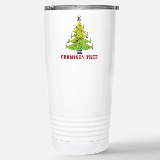 Chemist's TREE! HOLIDAY Stainless Steel Travel Mug