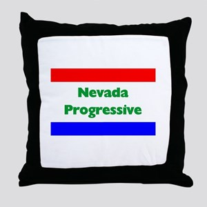 Nevada Progressive Throw Pillow