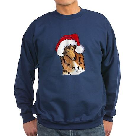 Christmas Collie Sweatshirt (dark)