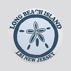 Long Beach Island NJ - Sand Dollar Design Ornament
