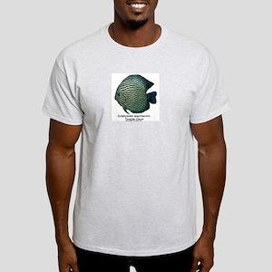 Symphysodon aequifasciata (Di Ash Grey T-Shirt