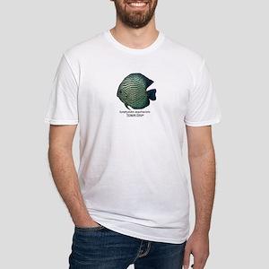 Symphysodon aequifasciata (Di Fitted T-Shirt