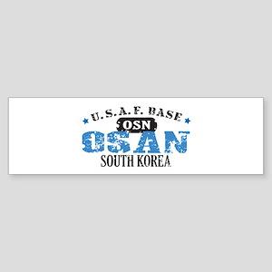 Osan Air Force Base Sticker (Bumper)