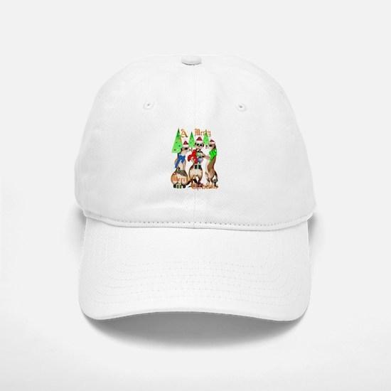 Merry Meerkat Christmas Cap