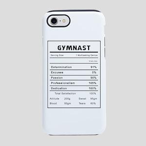 Gymnast Nutrition Information iPhone 7 Tough Case