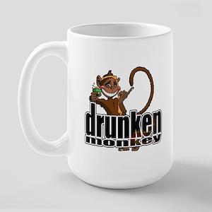 Drunken Monkey Large Mug