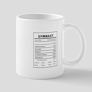 Gymnast Nutrition Information Mugs
