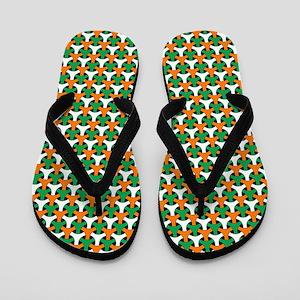 Celtic Pattern Flip Flops