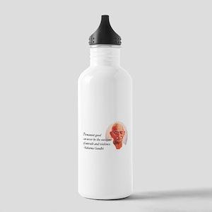 Gandhi Wisdom Stainless Water Bottle 1.0L