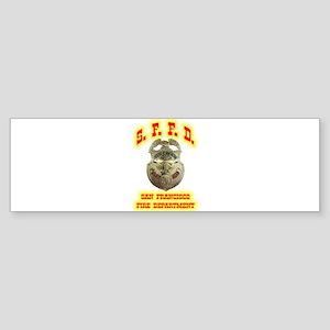 S.F.F.D. Sticker (Bumper)