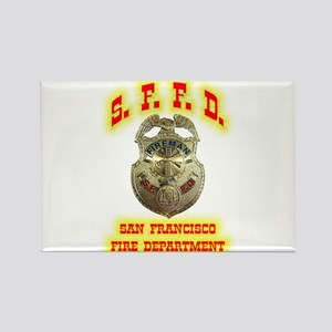 S.F.F.D. Rectangle Magnet