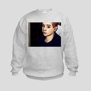 Custom Comic Stylized  Kids Sweatshirt