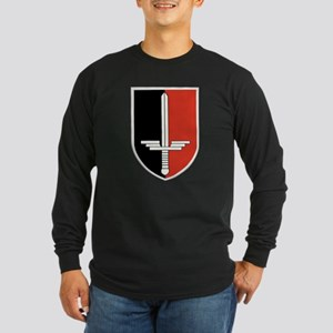 Luftwaffe Secret Project Long Sleeve Dark T-Shirt
