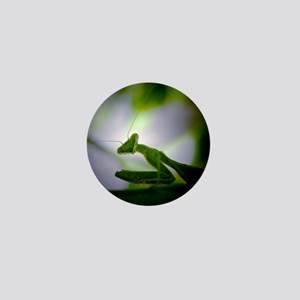 Praying Mantis Mini Button