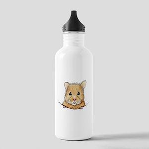 Pocket Hamster Stainless Water Bottle 1.0L