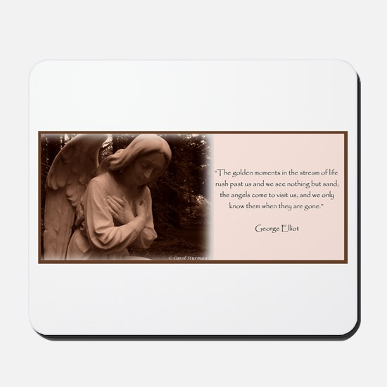 Angel Quote Mousepad