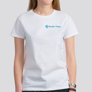 2010 Breath of Hope Logo Women's T-Shirt