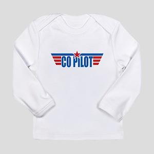 Co Pilot Wings Long Sleeve Infant T-Shirt