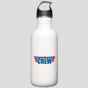 Aviation Crew Wings Stainless Water Bottle 1.0L