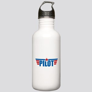 Pilot Aviation Wings Stainless Water Bottle 1.0L