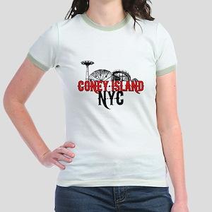 Coney Island NYC Jr. Ringer T-Shirt