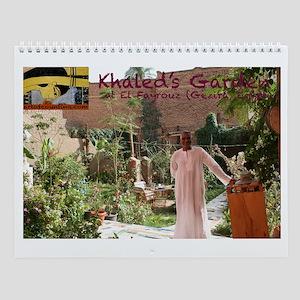 Khaled's Garden--Wall Calendar