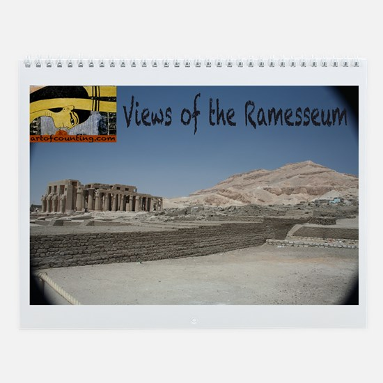 Views of the Ramesseum--Wall Calendar