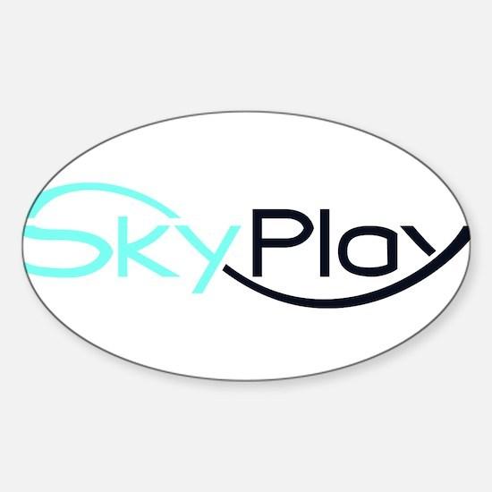 SKYPLAY Sticker (Oval)