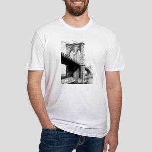 Brooklyn Bridge Fitted T-Shirt