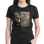 Chaos Rise Up T-Shirt Women's Dark T-Shirt