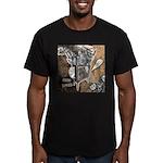 Chaos Rise Up T-Shirt Men's Fitted T-Shirt (dark)