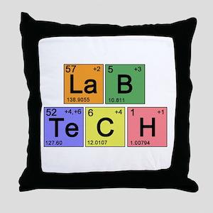 LaB TeCH Color Throw Pillow