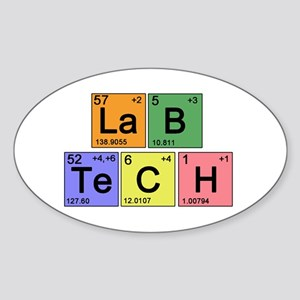 LaB TeCH Color Sticker (Oval)